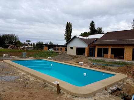 San Cristobal hnos constructora의  수영장