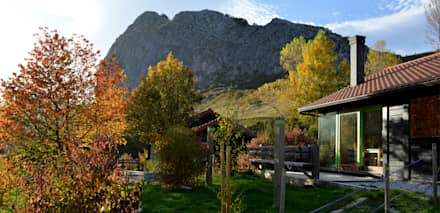 RUSTICASA | Cabañas Patagónicas | Outono: Hotéis  por Rusticasa