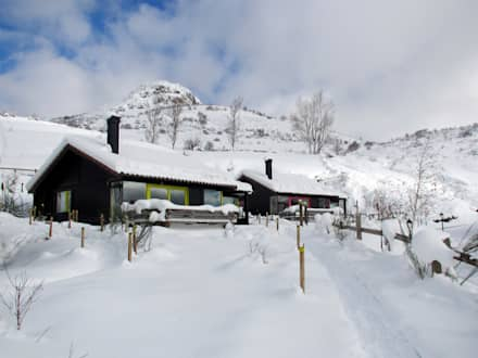 RUSTICASA | Cabañas Patagónicas | Inverno: Hotéis  por Rusticasa