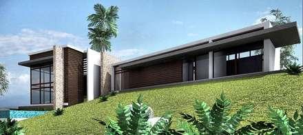 CASA 11: Casas de estilo moderno por Elite Arquitectura y Asoc. SAS.