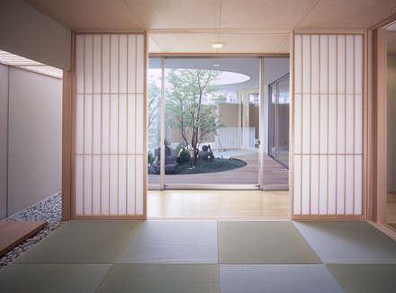 薬師の住宅: アトリエ環 建築設計事務所が手掛けた和室です。