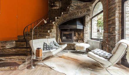 Wohnzimmer Landhausstil Holz - Design