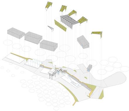 la pinyolada: Bodegas de estilo industrial de juan marco arquitectos