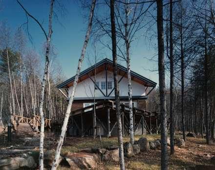 西面: 株式会社ラウムアソシエイツ一級建築士事務所が手掛けた家です。