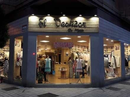 Decoració integral en tienda: Espacios comerciales de estilo  de El forajido