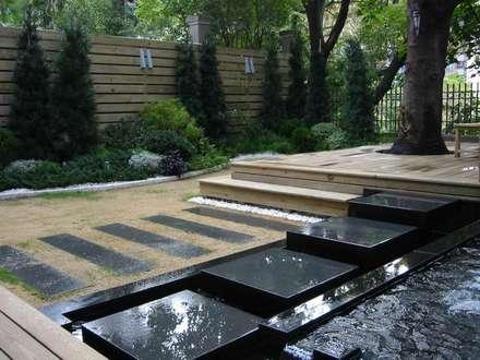 景觀庭園:  庭院 by 云鼎設計/陳柏壽建築師事務所