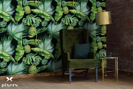 SPENDING TIME IN THE TROPICS: colonial Living room by Pixers