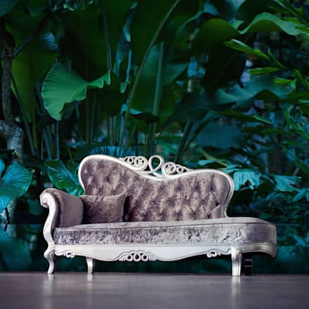 THE BEAUTY OF TROPICAL LEAVES : colonial Living room by Pixers