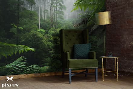 SPENDING TIME IN THE TROPICS : colonial Living room by Pixers