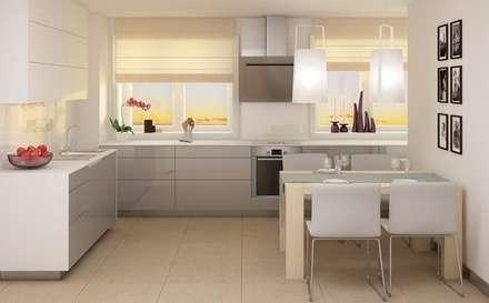 Wnętrza Domów : styl , w kategorii Kuchnia zaprojektowany przez T3Atelier