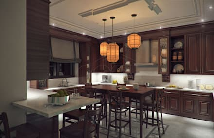 Asian style kitchens