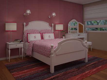 modern Nursery/kid's room by JMS DISEÑO DE INTERIORES MUEBLES Y CONSTRUCCION