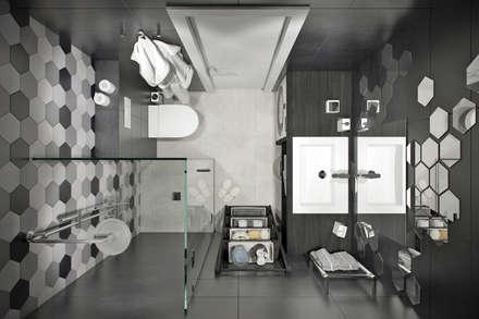 Phòng tắm by Студия архитектуры и дизайна Дарьи Ельниковой