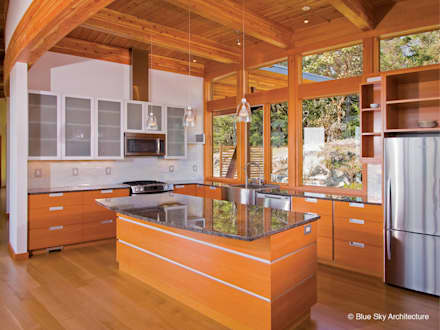 : modern Kitchen by Helliwell + Smith • Blue Sky Architecture