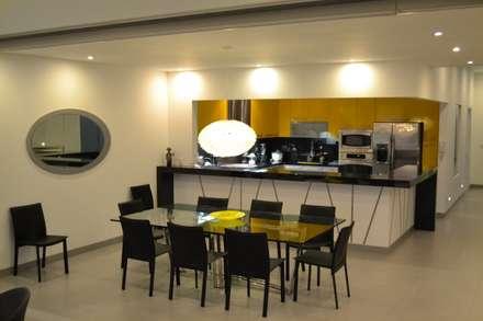 Comedor y Cocina: Comedores de estilo moderno por DMS Arquitectas