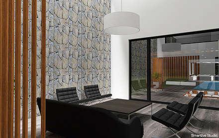 Living: Livings de estilo moderno por Smartlive Studio
