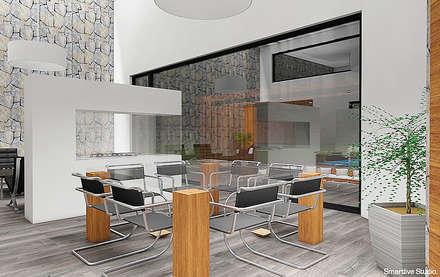 Comedor: Comedores de estilo moderno por Smartlive Studio