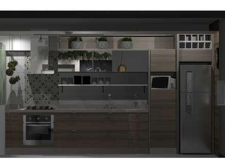 Cozinha: Cozinhas escandinavas por Omega Arquitetura