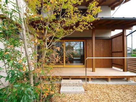 西美薗の家: 岸井設計室が手掛けた家です。