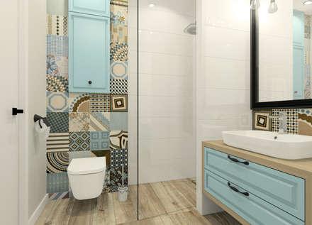 Baños de estilo escandinavo por Esteti Design