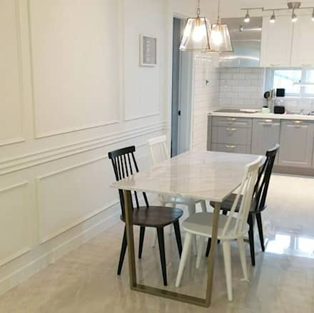 modern Dining room by MARBLEHOLIC