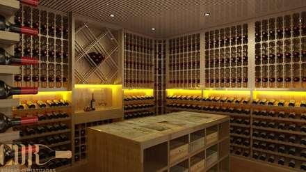 ห้องเก็บไวน์ by Edr Cristal - Adegas Climatizadas