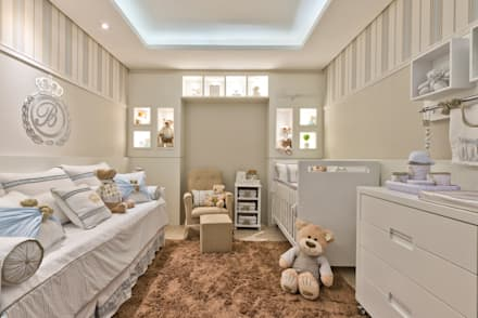 modern Nursery/kid's room by KIDS Arquitetura para pequenos