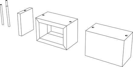 Paper Box Messe- und Event-Architektur Module:  Messe Design von spek Design