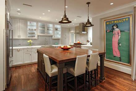 Luxury Kalorama Condo Renovation in Washington DC: minimalistic Kitchen by BOWA - Design Build Experts