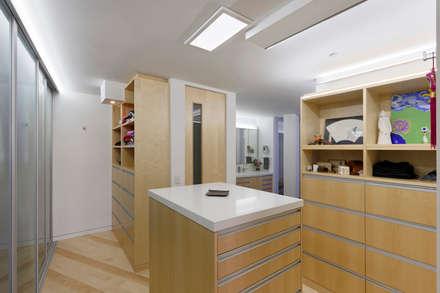 Contemporary Washington, DC Condominium Renovation: modern Dressing room by BOWA - Design Build Experts