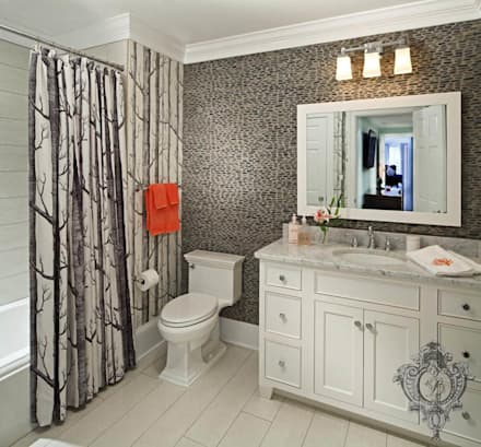 Bathroom: eclectic Bathroom by Kellie Burke Interiors