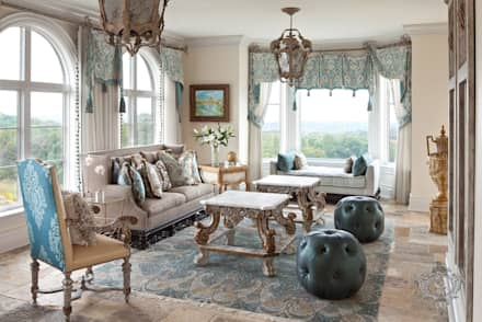 classic Conservatory by Kellie Burke Interiors
