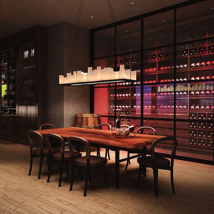 Alto Mimarlık  – Steak Restaurant: kırsal tarz tarz Yemek Odası