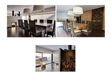 Casa unifamiliar en El Zorongo, Zaragoza: Bodegas de estilo moderno de gArchanco