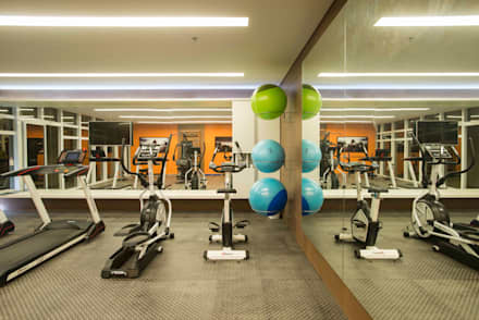 modern Gym by OIKE Arquitetos