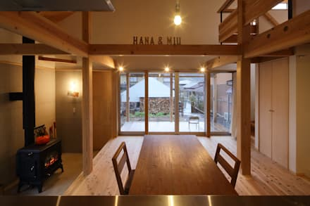 田中町の家 / House in tanaka-cyo: アトリエセッテン一級建築士事務所が手掛けたリビングです。