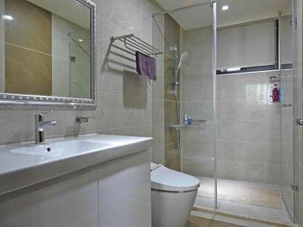 頭份詠森美居 黃公館:  浴室 by 築室室內設計