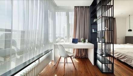 Рабочий уголок: Рабочие кабинеты в . Автор – U-Style design studio