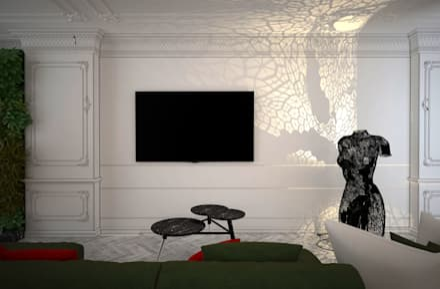 Emancipation: Гостиная в . Автор – U-Style design studio