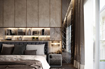 modern Bedroom by pyh's interior design studio