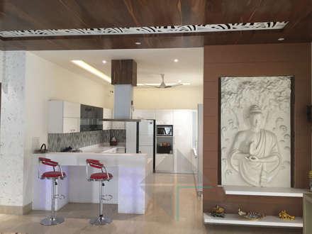 KIRTI BHAWAN: modern Kitchen by APT Designs