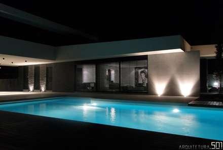 casa JL: Piscinas minimalistas por arquitetura.501