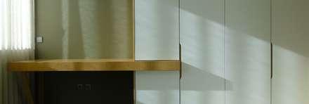 Casa RM: Closets minimalistas por arquitetura.501