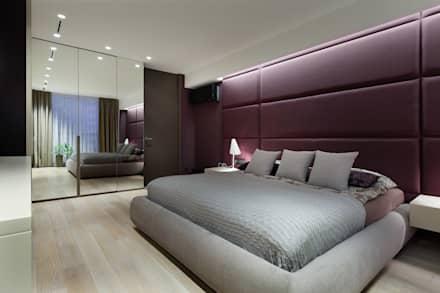 """Апартаменты ЖК """"Гранд фамилия"""": Спальни в . Автор – ART Studio Design & Construction"""