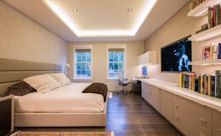 McLean Transitional : modern Bedroom by FORMA Design Inc.