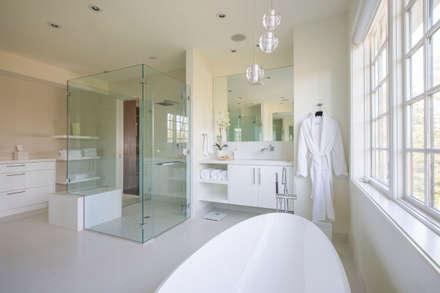 Craftsman Modern: modern Bathroom by FORMA Design Inc.