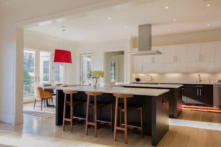 Bethesda Modern: modern Kitchen by FORMA Design Inc.