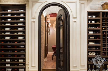 Wine Cellar: Classic Wine Cellar By Kellie Burke Interiors