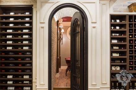 Wine Cellar: classic Wine cellar by Kellie Burke Interiors