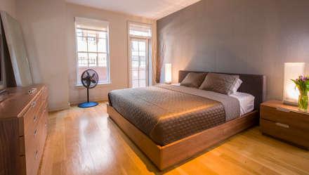 Loft in Arlington : modern Bedroom by FORMA Design Inc.